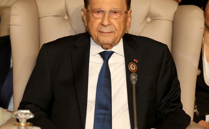 President Michel Aoun Attends 30th Arab Summit (Tunis).