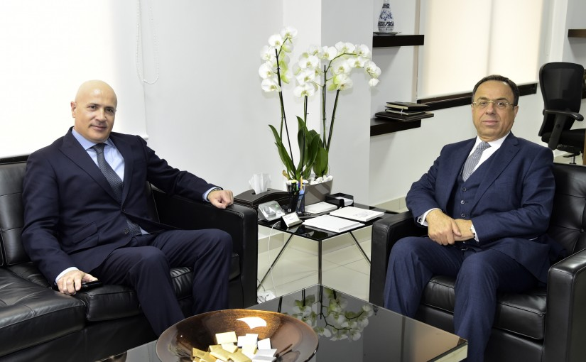 Minister Mansour Bteich meets Mexican Ambassador
