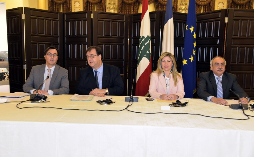 Meeting at the Grand Serail for French Embassy Roadmap to Enhance Cooperation under the Umbrella of the Safe Use of Chemicals