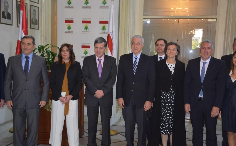Mr Ghadi Khoury meets Cyprus Ambassador with a Delegation