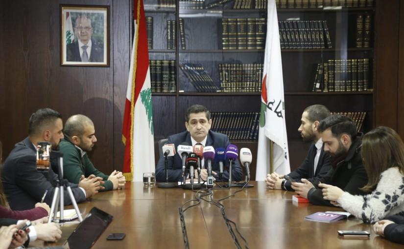 Press Conference for Minister Richard Kouyoumjian