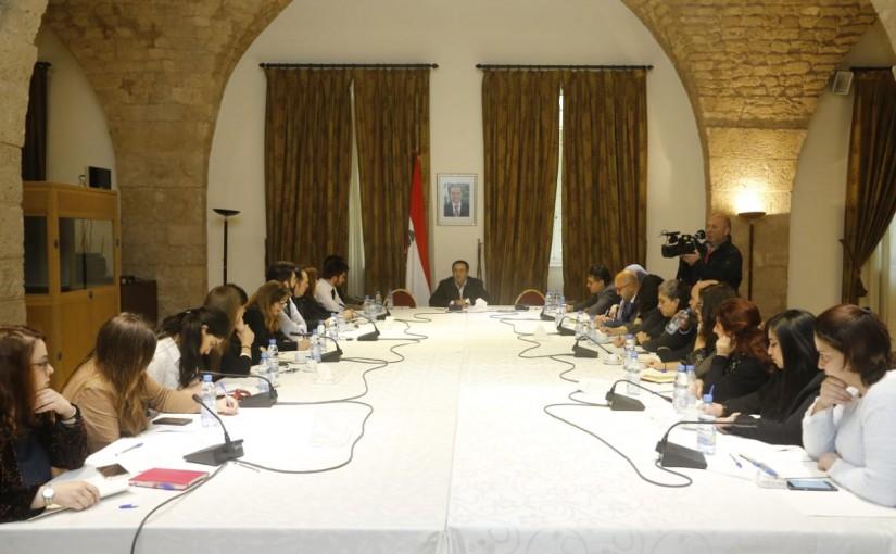 Press Conference for Mr Nadim el Moula