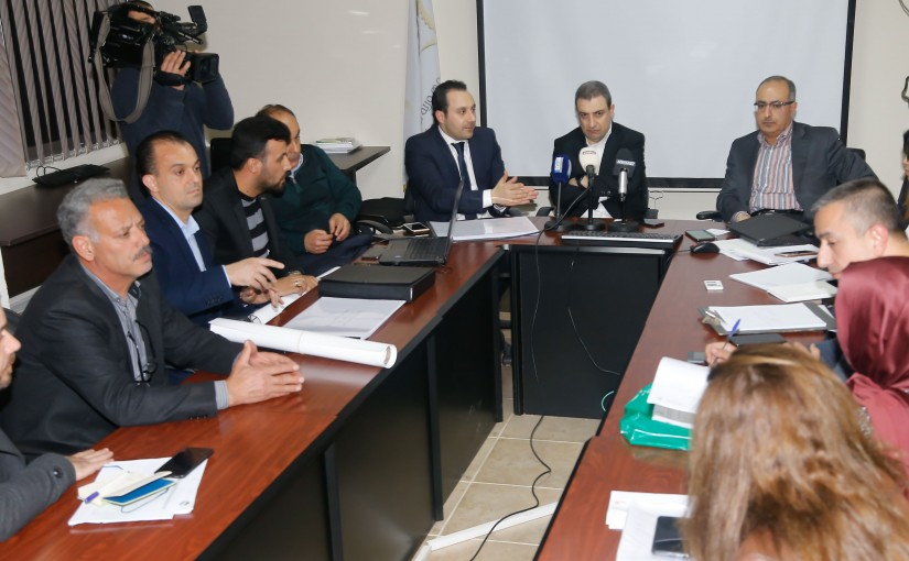 Minister Wael Abou Faour Heading The Committee for the detection of factories in the Litani Dam