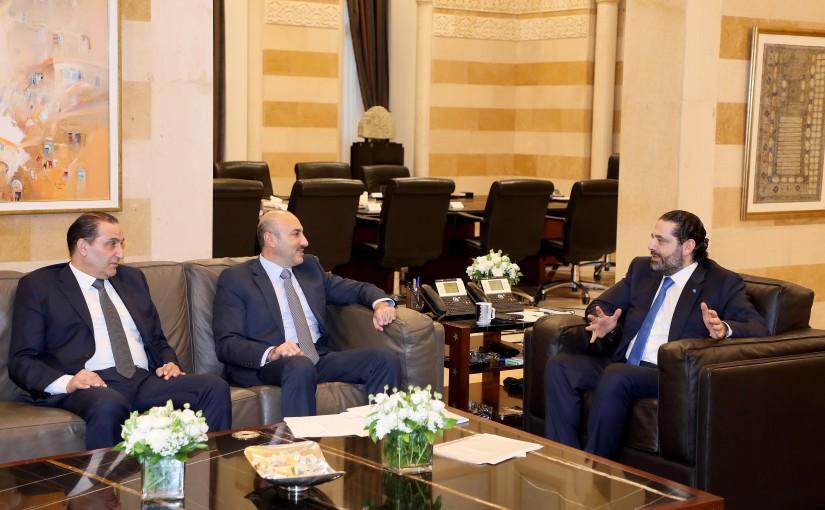 Pr Minister Saad Hariri meets General Toni Saliba