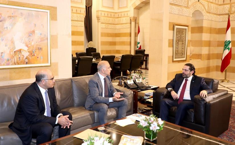 Pr Minister Saad Hariri meets Mr Hassan Kouraytem