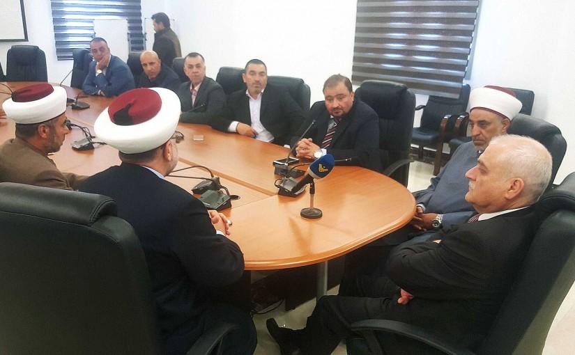 Minister Jamil Jabak meets a Delegation from Akar