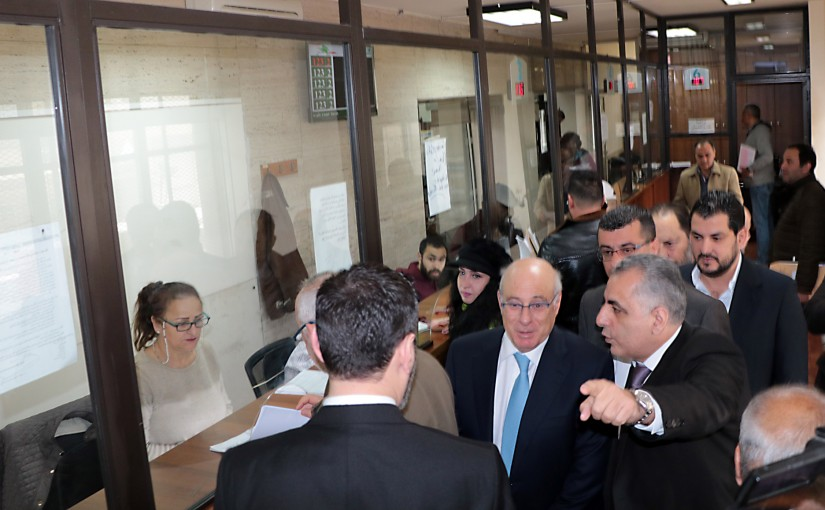Minister Kamil abou Sleiman Visits the Social Security  Service