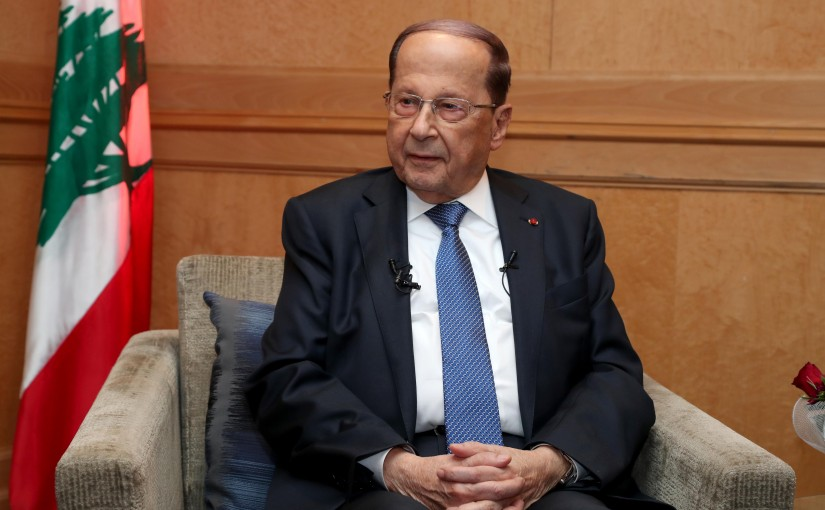 Interview for President Michel Aoun for Tunisian TV.