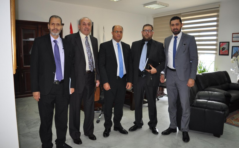 Minister Hassan Lakis Meets MP Anis Nassar