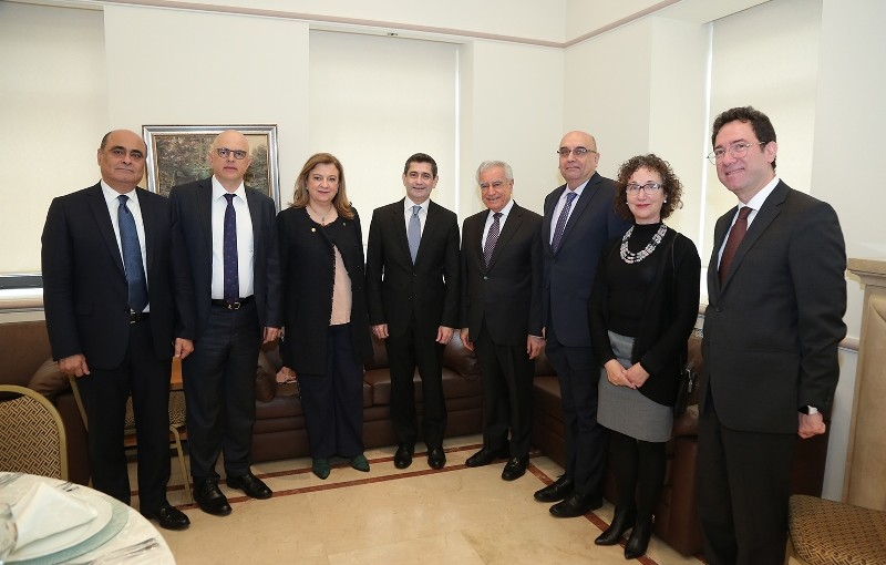 Minister Richard Kouyoumjian Tours at The LAU University