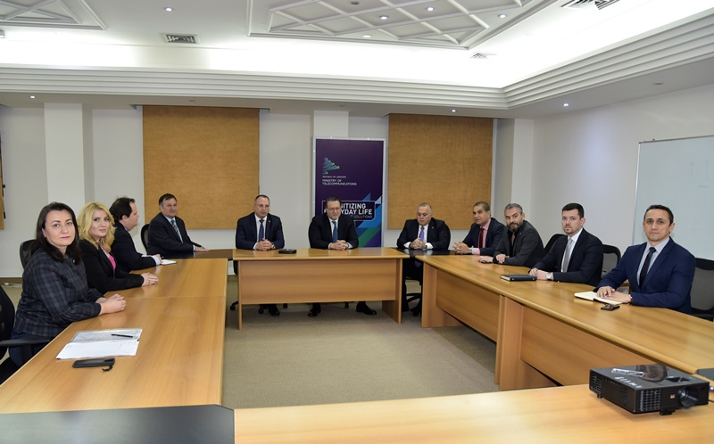 Minister Mohamad Chkeir Meets Bulgarian Minister of Agriculture