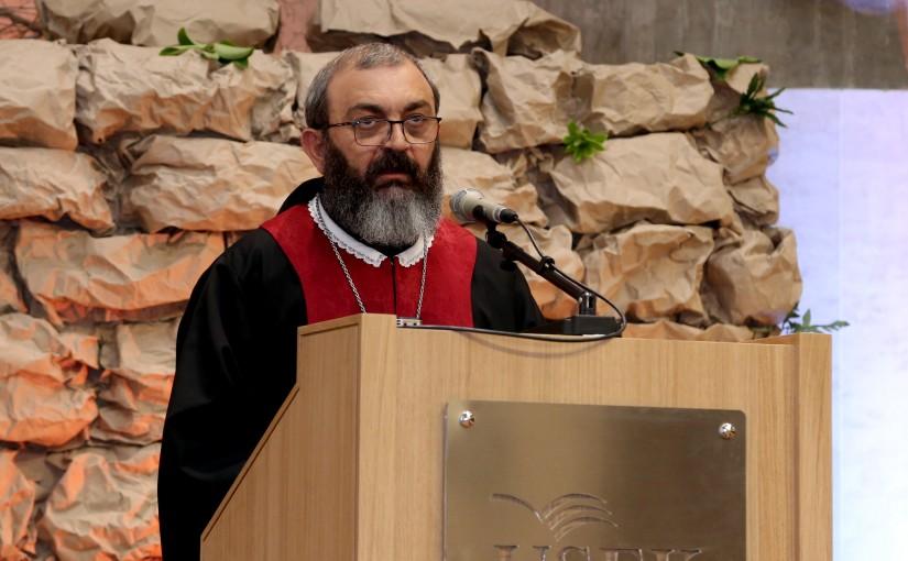 Good Friday Mass at Kaslik University.
