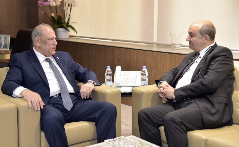 Minister Jamal Jarrah meets Turkish Ambassador