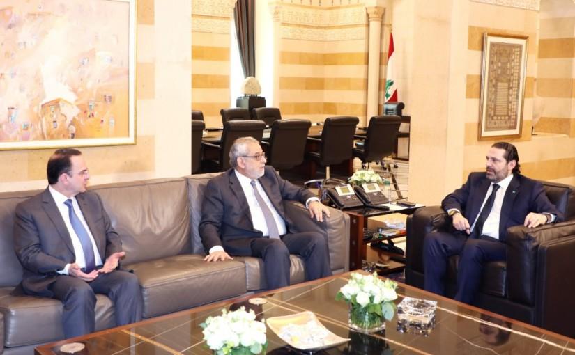 Pr Minister Saad Hariri meets a Delegation from Tashnak Party