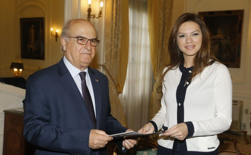 Minister Violette Safadi Visits the Constitutional Council