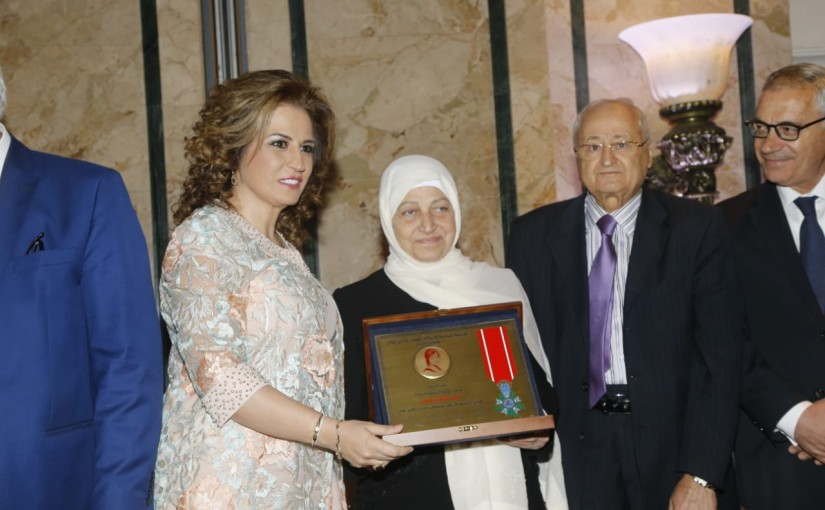 Committee of Pioneers from Lebanon Honors Mrs Laure Sleiman