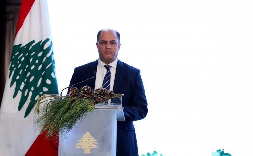 "The planting ceremony of ""The Million Tree"" at Baabda Palace."