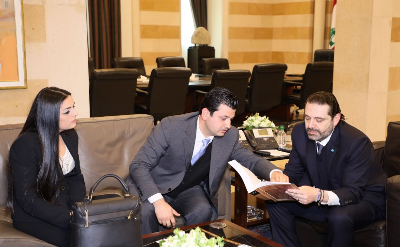 Pr Minister Saad Hariri meets Mr Alexander Abi