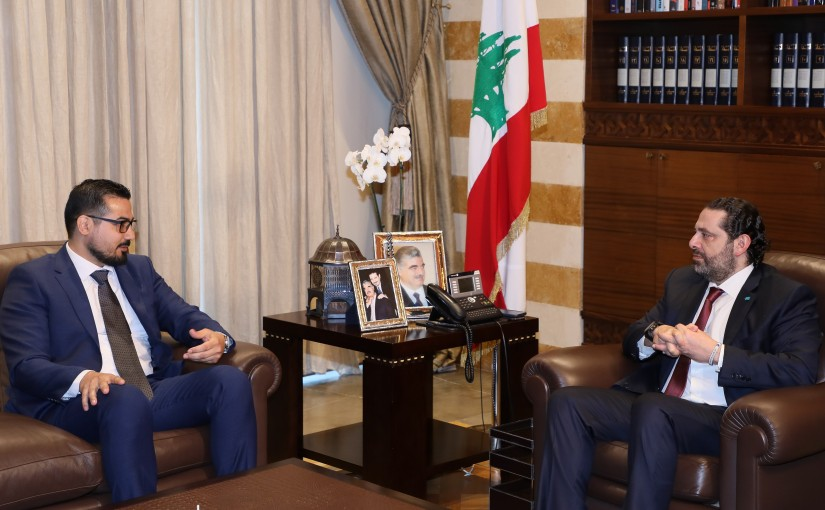 Pr Minister Saad Hariri meets Mr Mahmoud Samadi