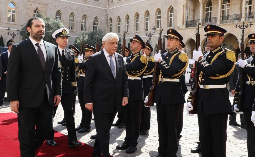 Pr Minister Saad Hariri meets Greek President