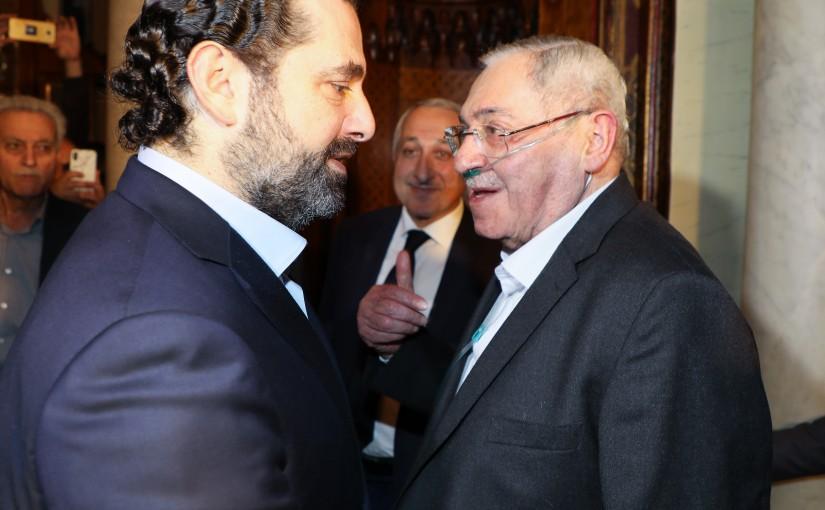 Pr Minister Saad Hariri meets Mr Ahmad Karame