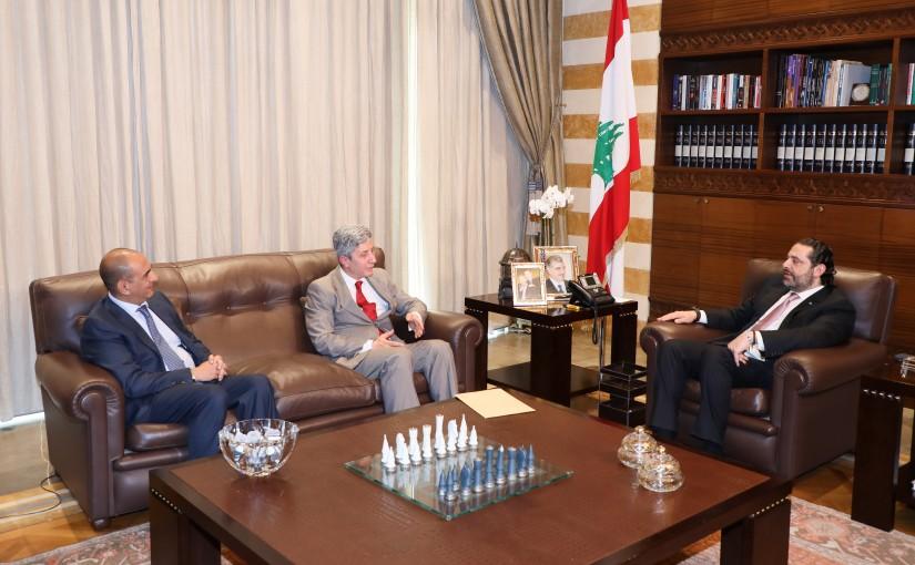 Pr Minister Saad Hariri meets Ambassador Ali Daher