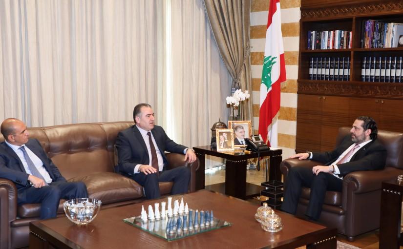 Pr Minister Saad Hariri meets Ambassador Mouhamad Hassan