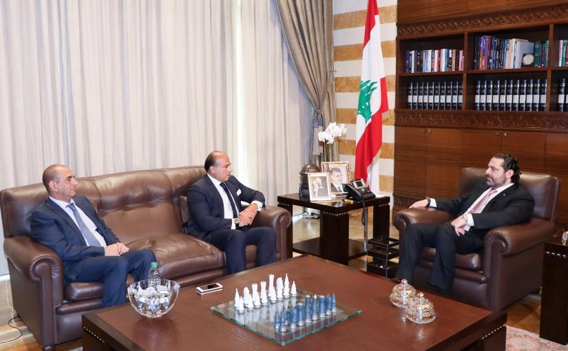 Pr Minister Saad Hariri meets Ambassador Ziad Attalah
