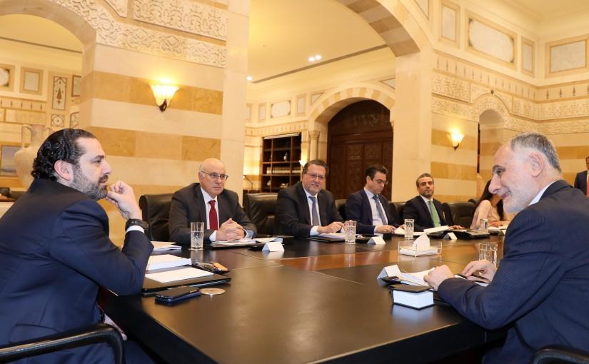 Pr Minister Saad Hariri Heading a Comunication Committee