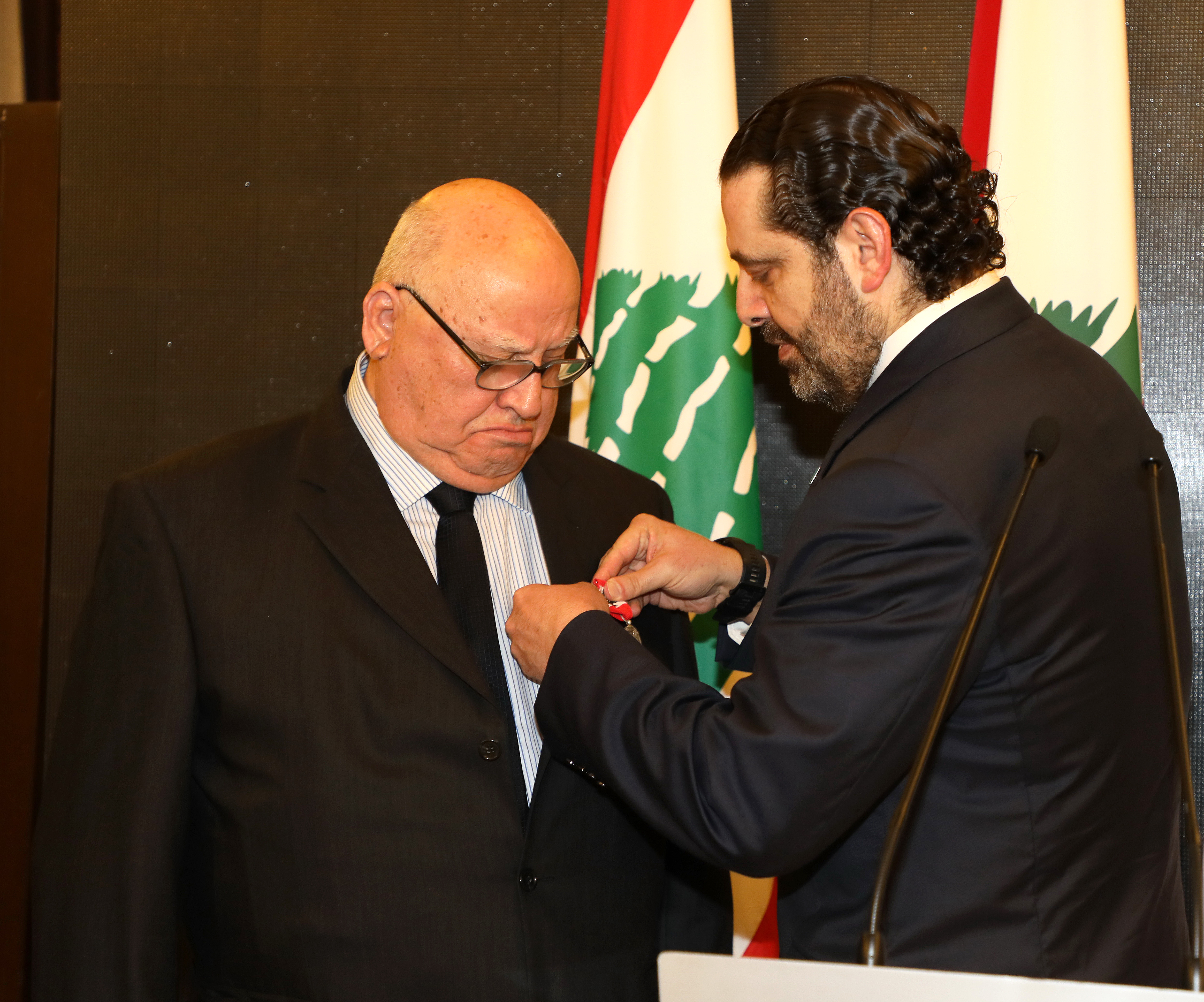 Pr Minister Saad Hariri Honors Mr Mouhamad el Saoudi 2