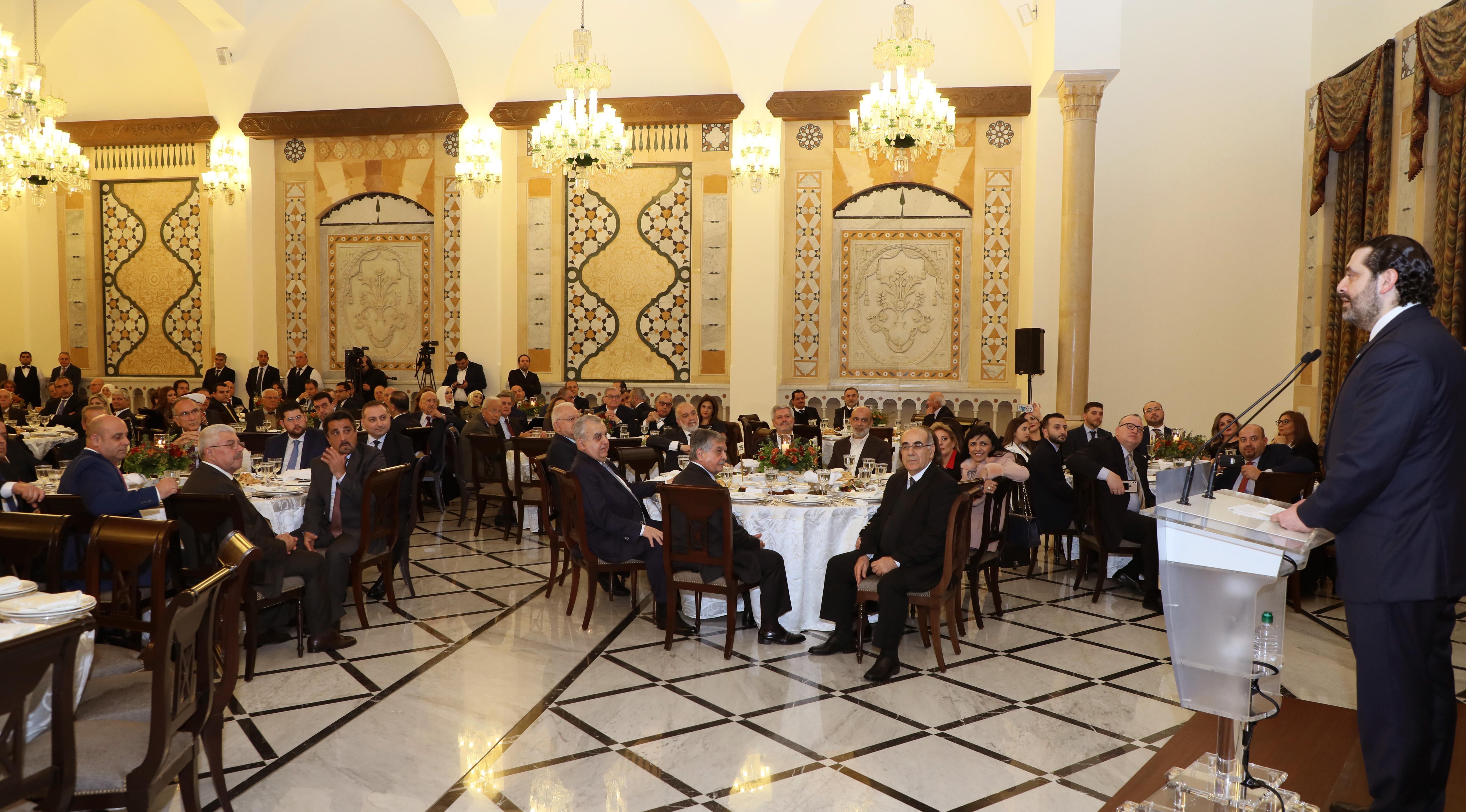 Pr Minister Saad Hariri Honors Mr Mouhamad el Saoudi 3