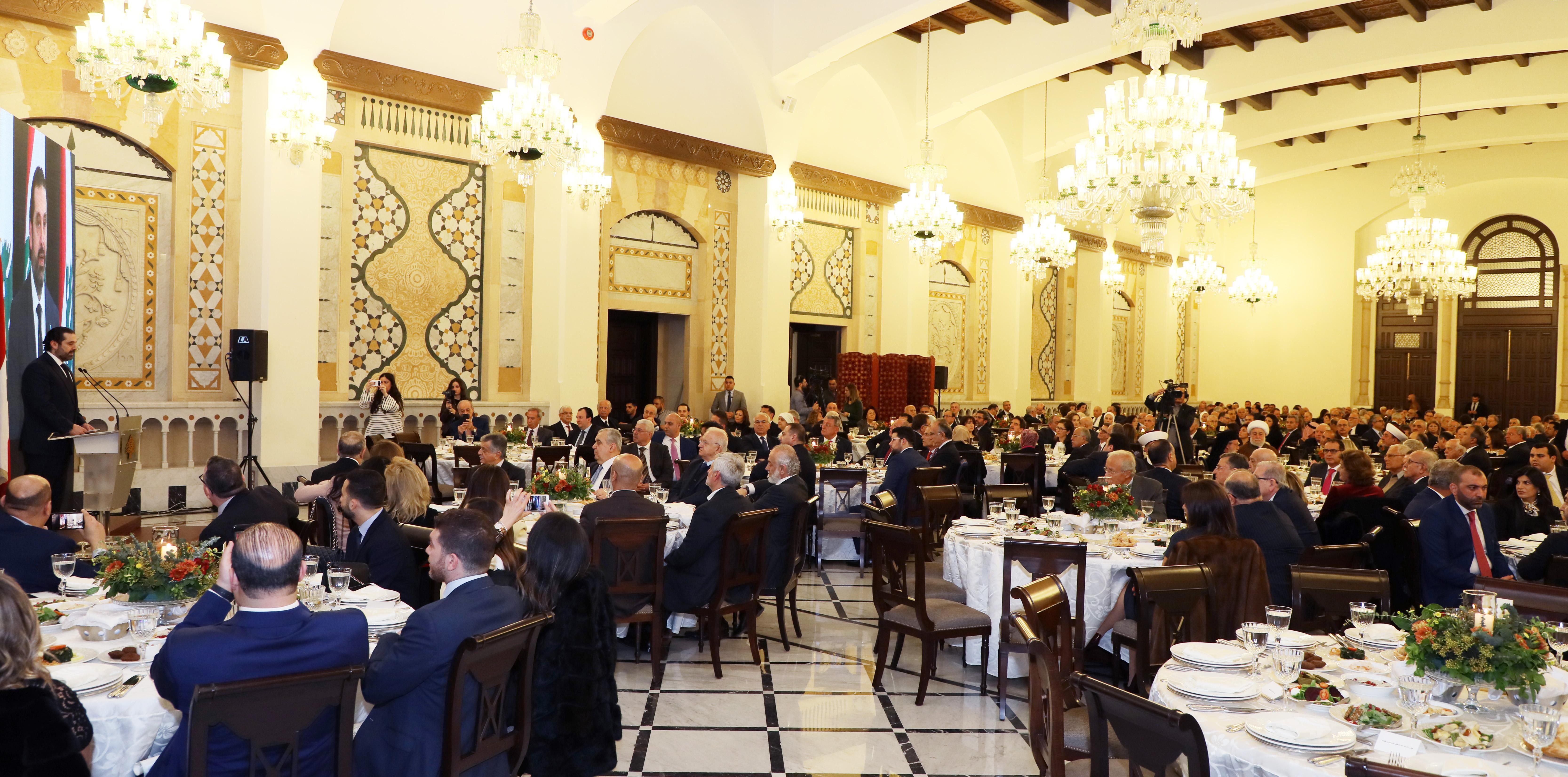 Pr Minister Saad Hariri Honors Mr Mouhamad el Saoudi 4