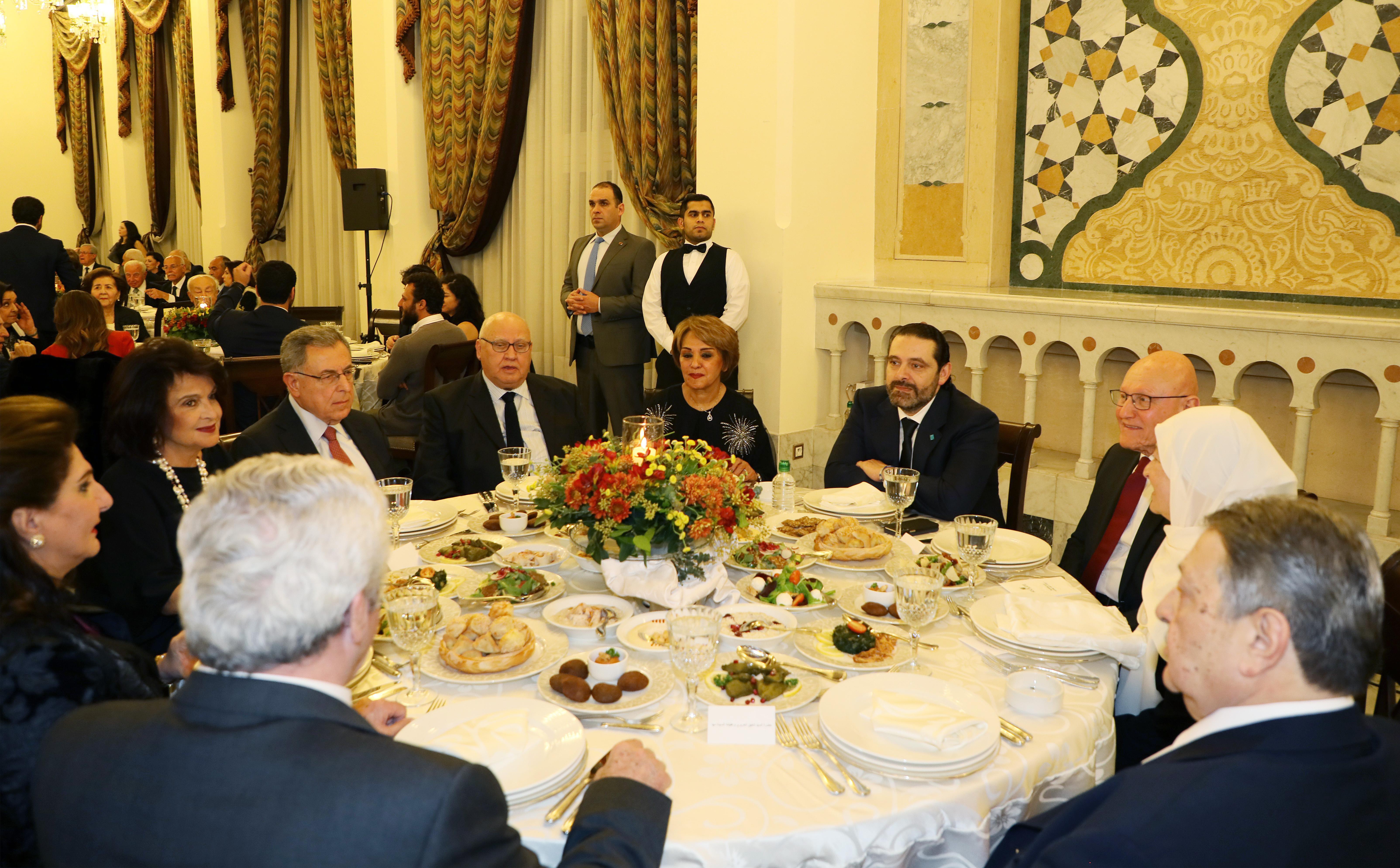 Pr Minister Saad Hariri Honors Mr Mouhamad el Saoudi 6