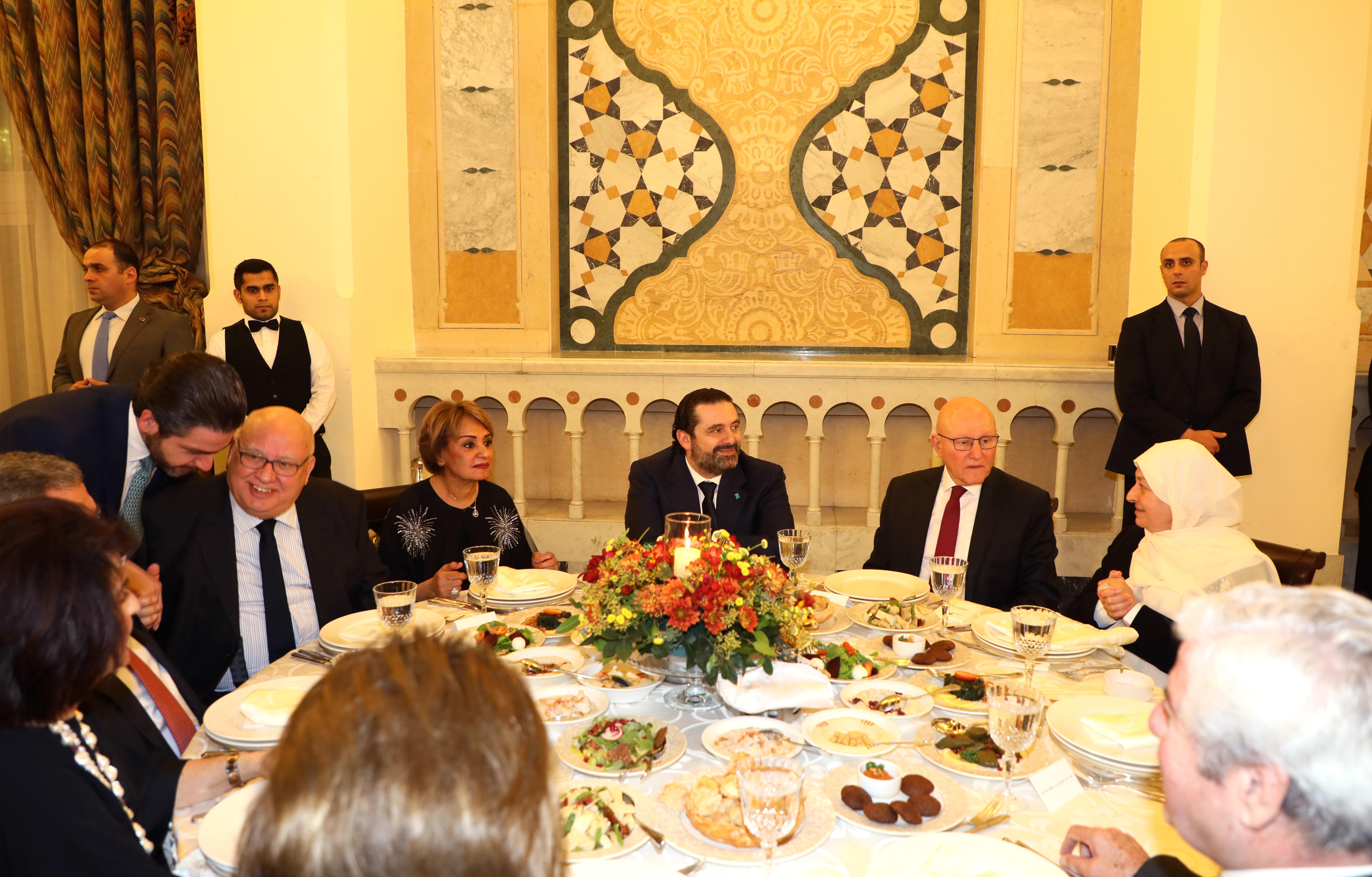 Pr Minister Saad Hariri Honors Mr Mouhamad el Saoudi 7