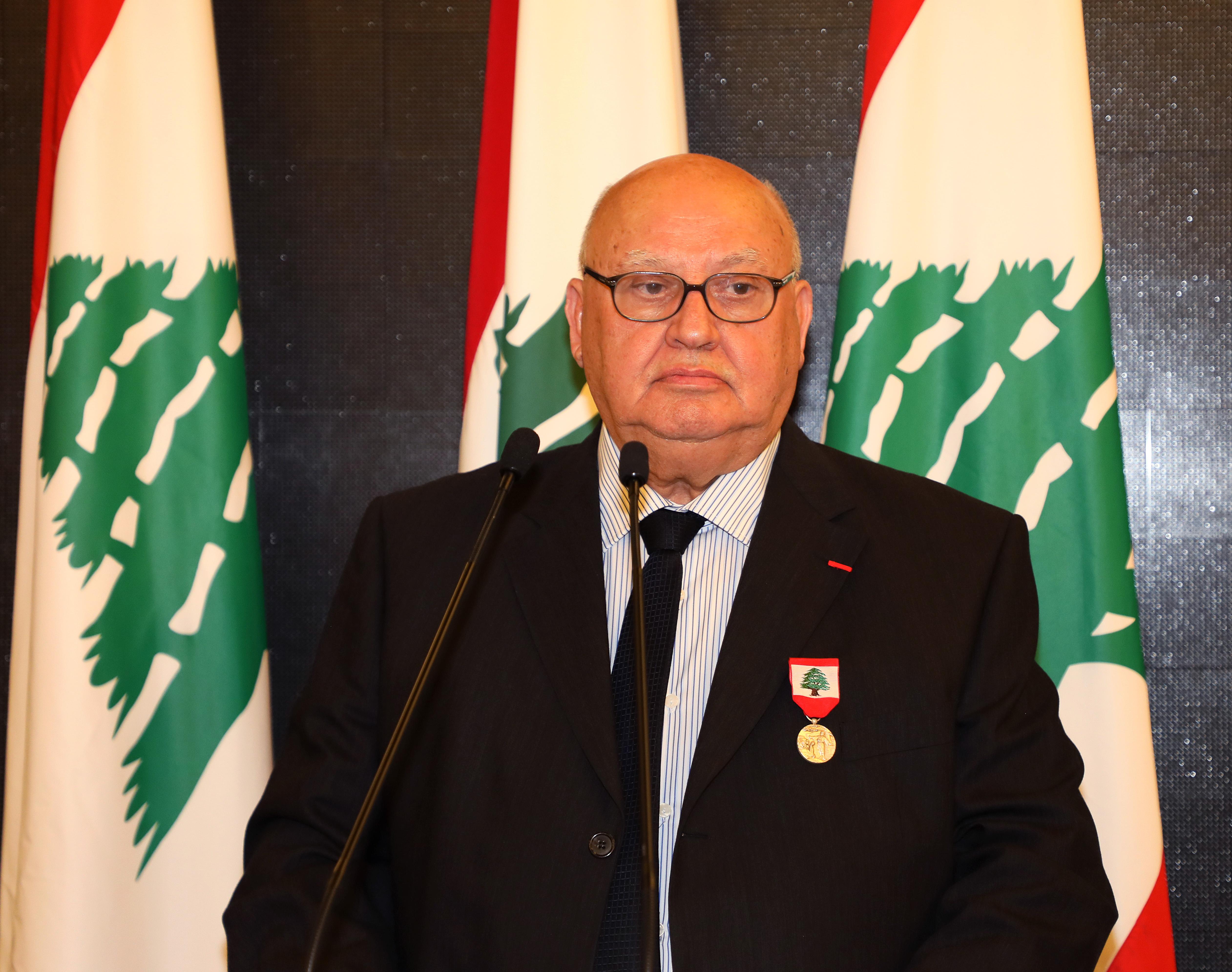 Pr Minister Saad Hariri Honors Mr Mouhamad el Saoudi