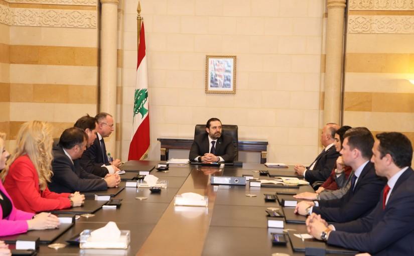 Pr Minister Saad Hariri meets Bulgarian Minister of Agriculture