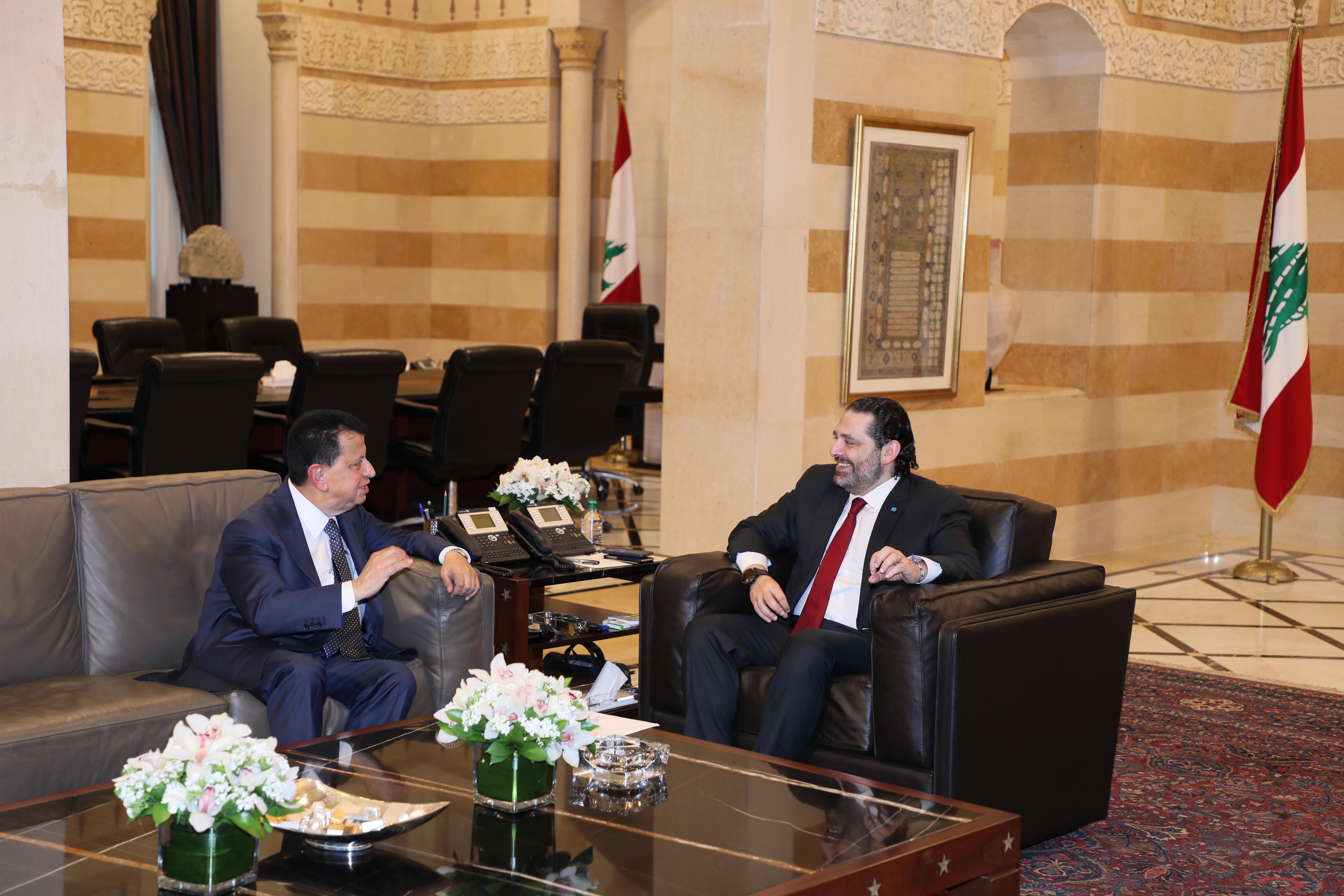 Pr Minister Saad Hariri meets Former MP Mouhamad Amine Itani