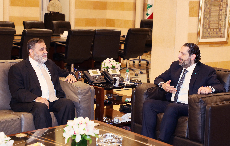 Pr Minister Saad Hariri meets Former MP kHALED daher