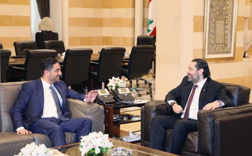 Pr Minister Saad Hariri meets Minister Saleh el Gharib