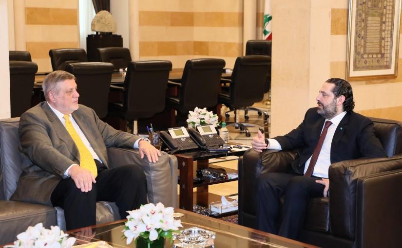 Pr Minister Saad Hariri meets a Delegation from United Nation 1