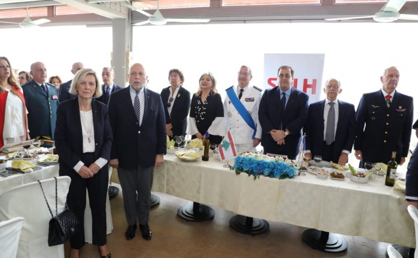 Lunch Hosted The Veterans and the Association of the members of the Lebanese Choir of Honor
