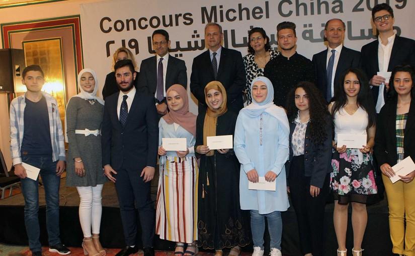 Michel Chiha Award at Bristol Hotel
