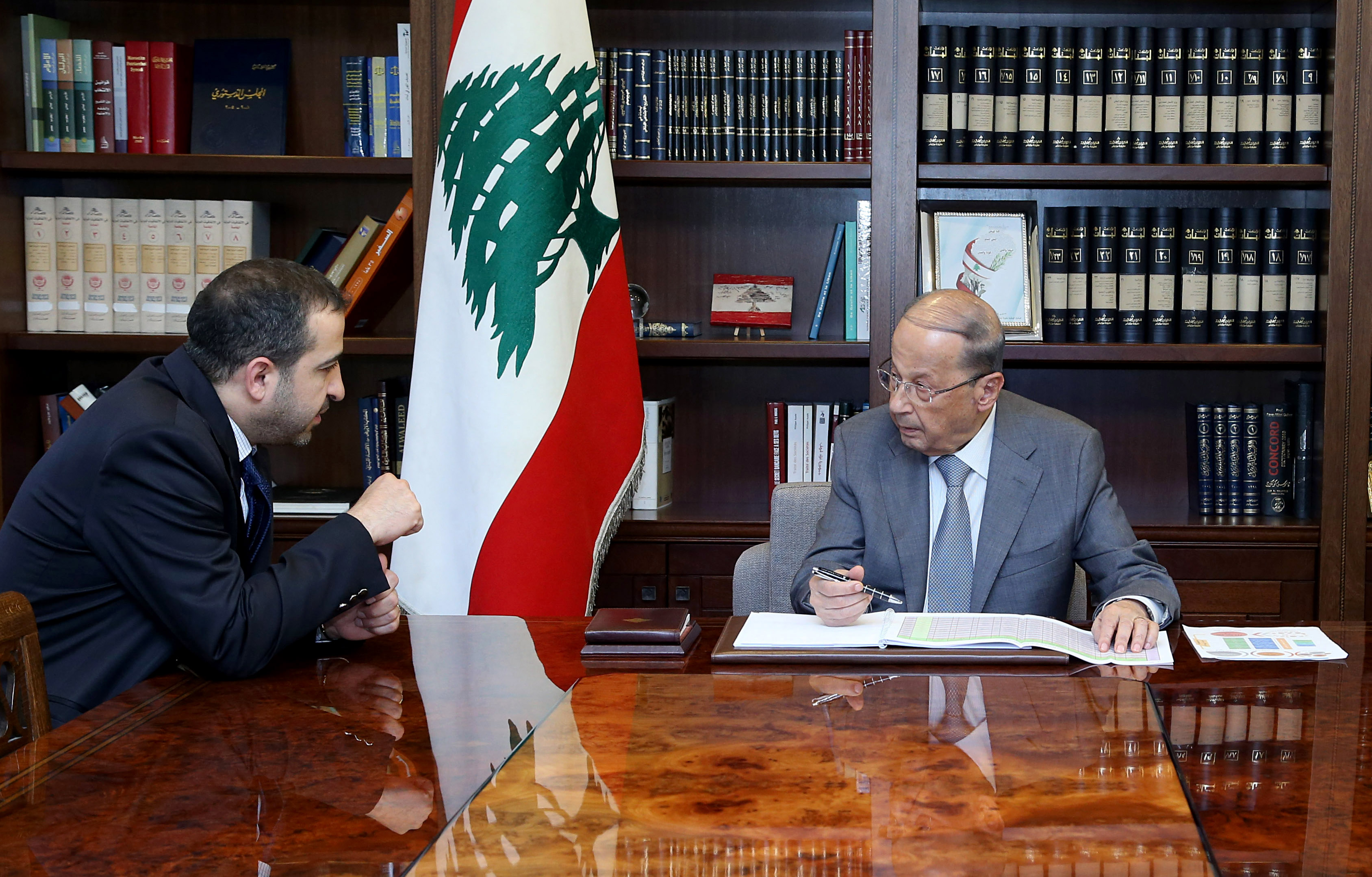 01 - Minister Ghassan Atallah 1