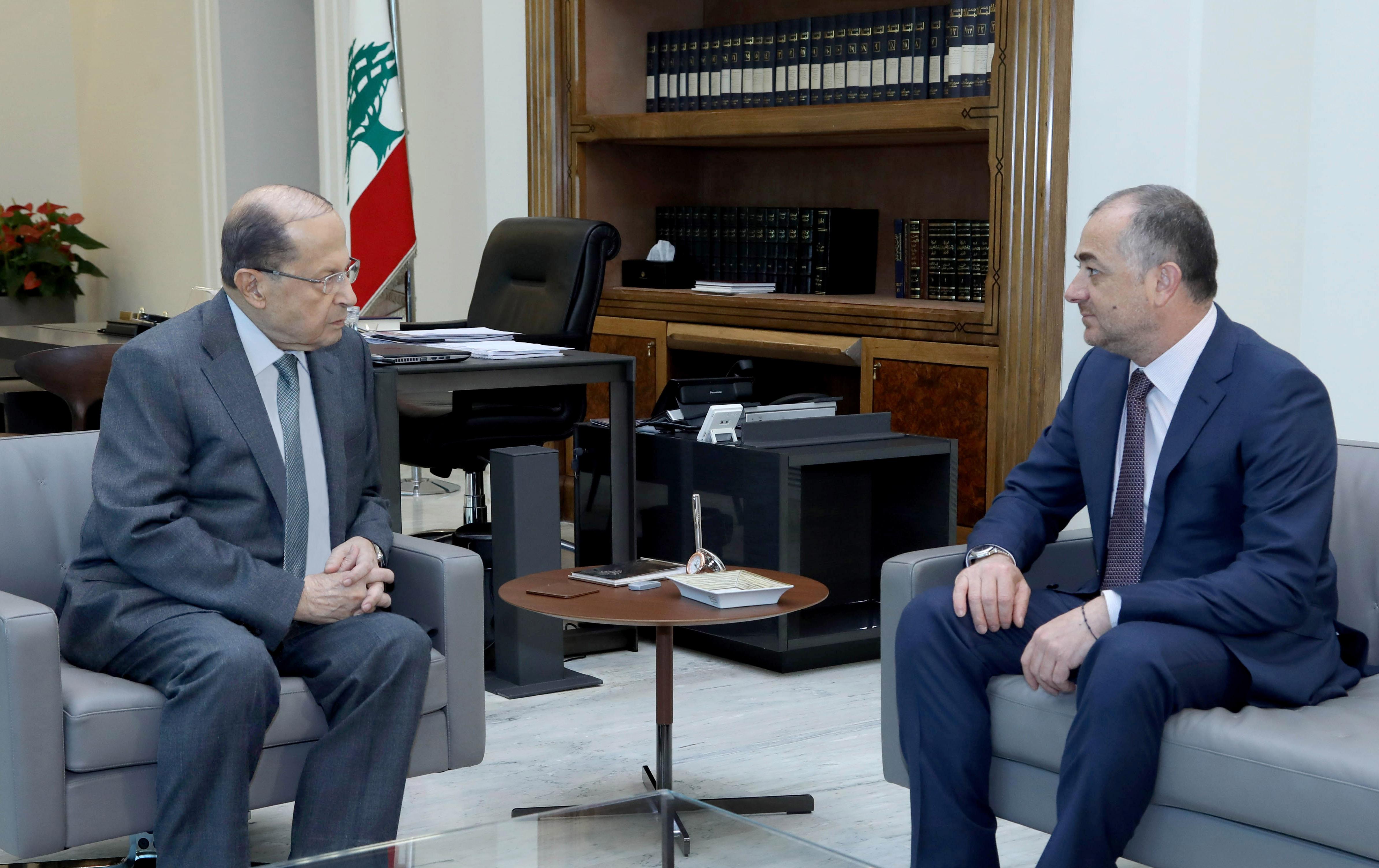 03 - Minister Elias Bou Saab
