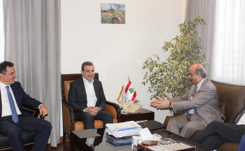 Minister Wael Abou Faour meets a Delegation from Granite Traders