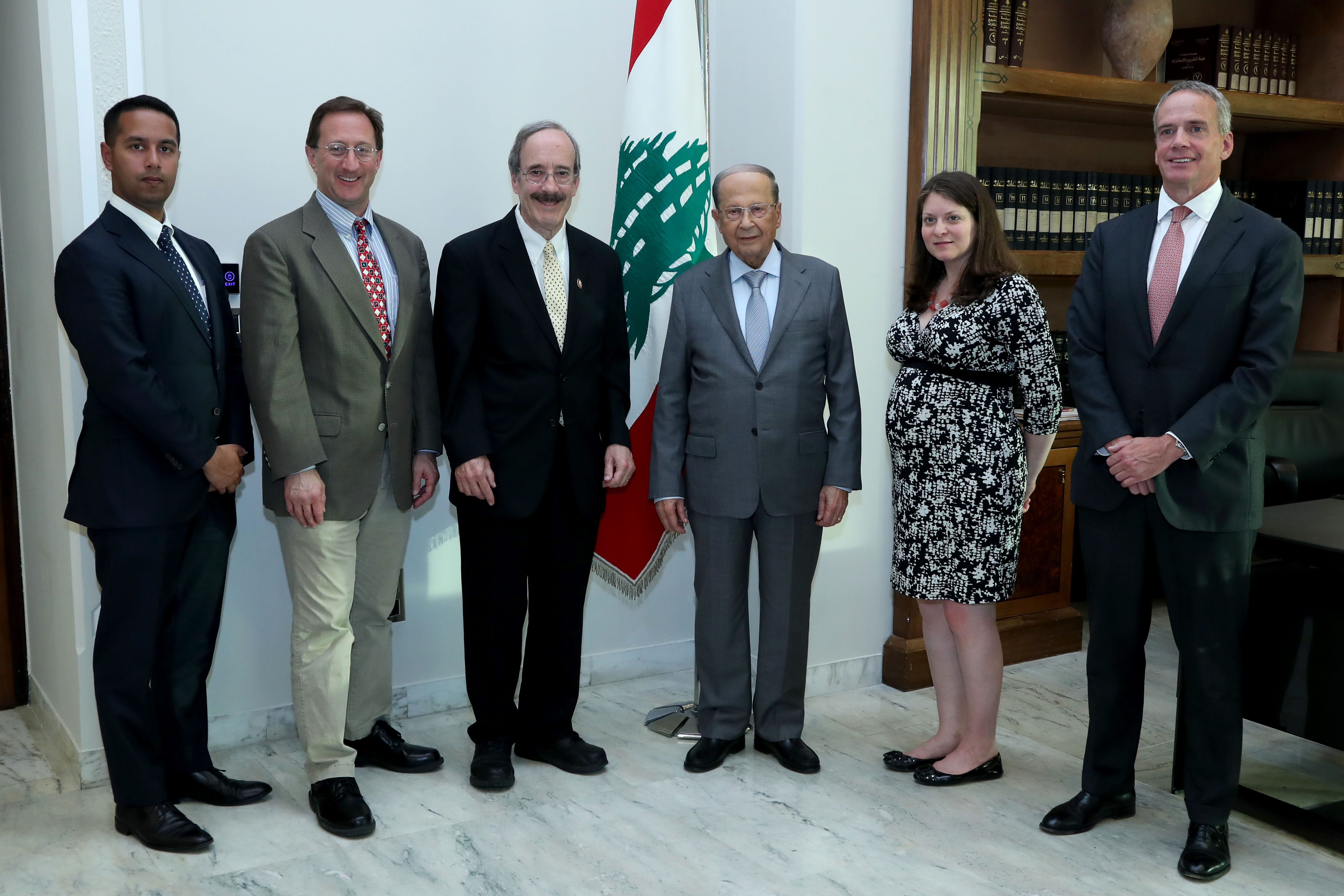 2 - Chairman of the Foreign Affairs Committee of the US Congress Mp Eliot Engel With Delegation 4