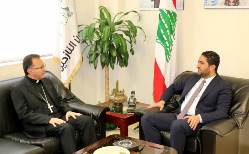 Minister Saleh Al Gharib Meets Papal Nuncio Ambassador