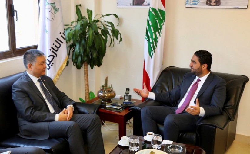 Minister Saleh Al Gharib Meets Chinese Ambassador