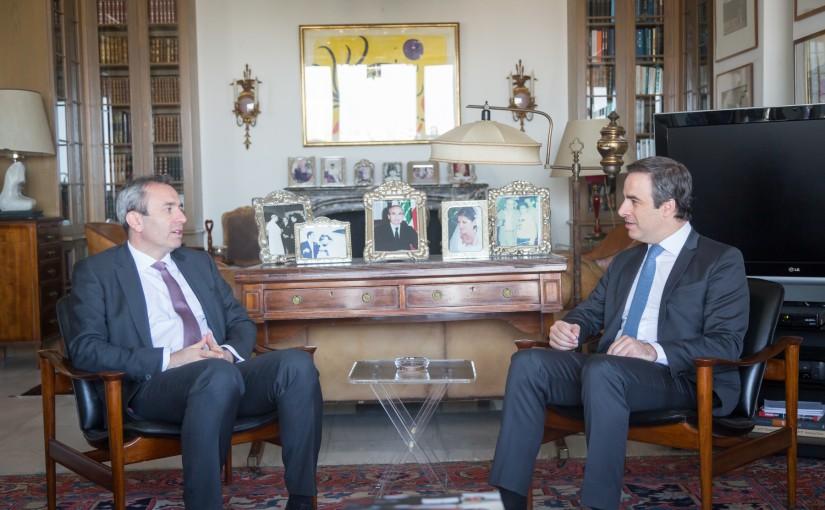 MP Michel Mouawad Meets British Ambassador