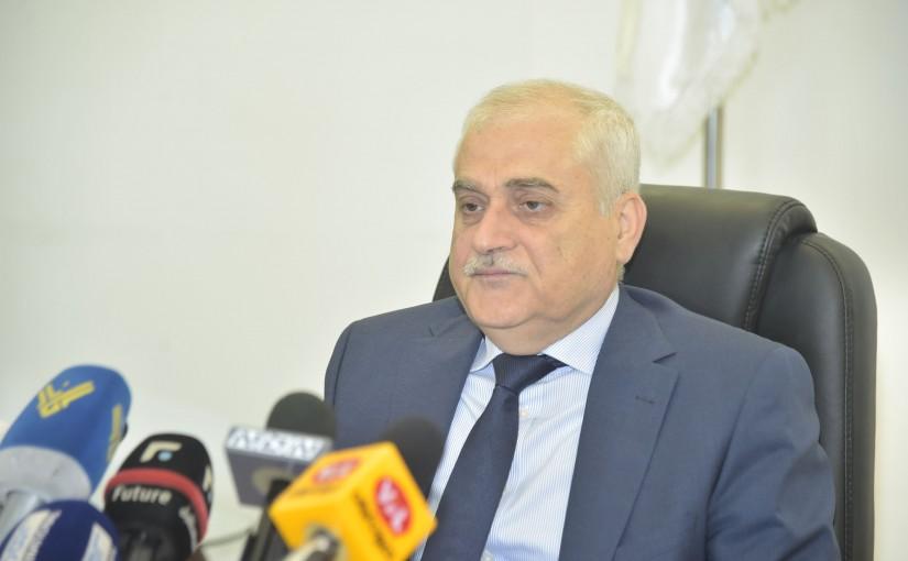 Press Conference for Minister Jamil Jabak